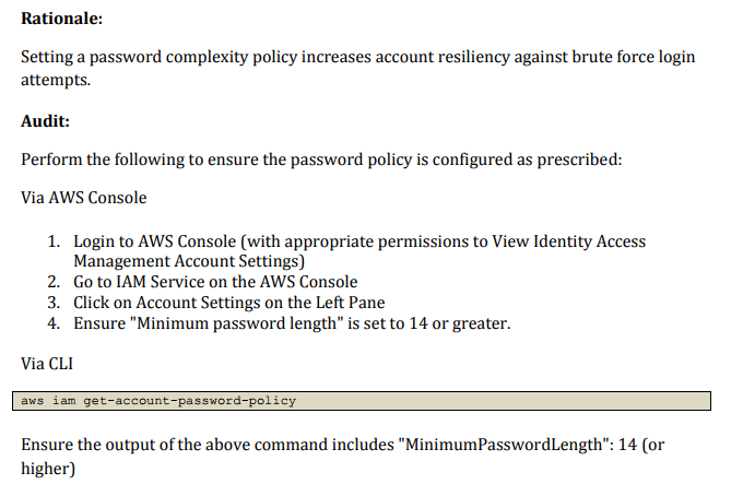 AWS CIS example policy